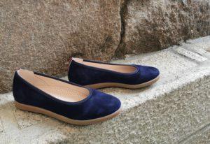ballerine bleue